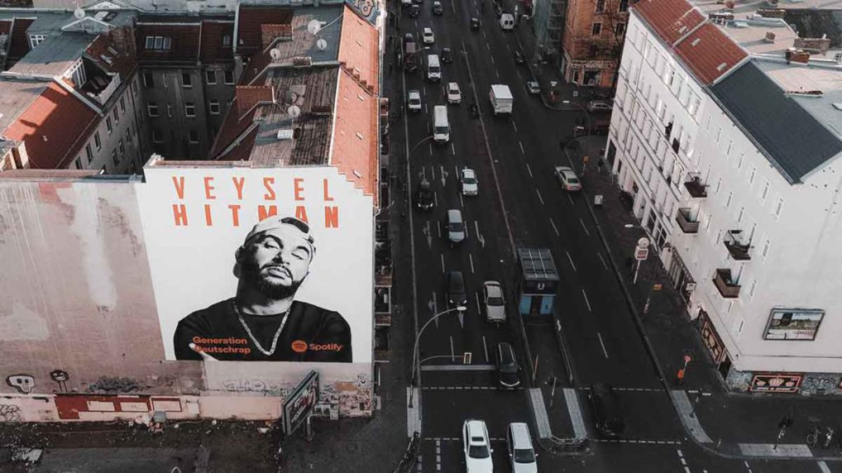 Spotify Veysel - MILLION MOTIONS - Videoproduktion Berlin - Streetart - Urban Art