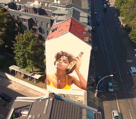 Berliner Pilsner Murals by Xi Design - MILLION MOTIONS - Videoproduktion Berlin - Streetart - Urban Art