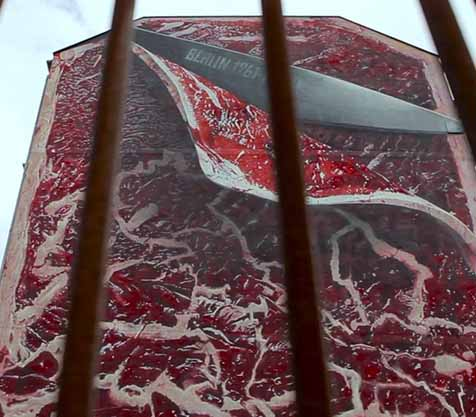 Flesh Mural by Xi Design - MILLION MOTIONS - Videoproduktion Berlin - Streetart - Urban Art