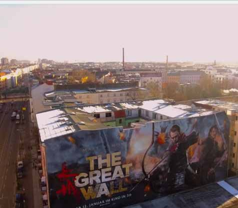 The great Wall Mural by Xi Design - MILLION MOTIONS - Videoproduktion Berlin - Streetart - Urban Art