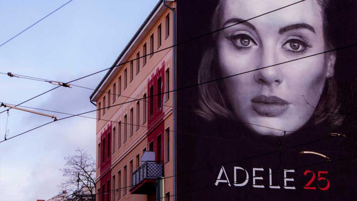 Adele - 25 Mural by Xi Design - MILLION MOTIONS - Videoproduktion Berlin - Streetart - Urban Art