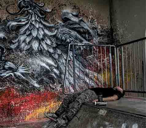 Qi Xinghua in Berlin - MILLION MOTIONS - Videoproduktion Berlin - Streetart - Urban Art