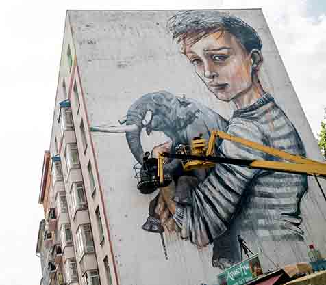 Berlin Mural Fest 2018 - MILLION MOTIONS - Videoproduktion Berlin - Streetart - Urban Art