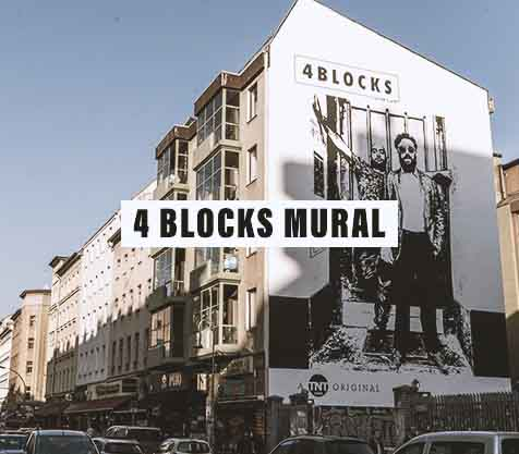 4 Blocks Mural Streetart Video MILLION MOTIONS - Videoproduktion Berlin Kreuzberg Neukölln